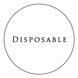 By Disposable